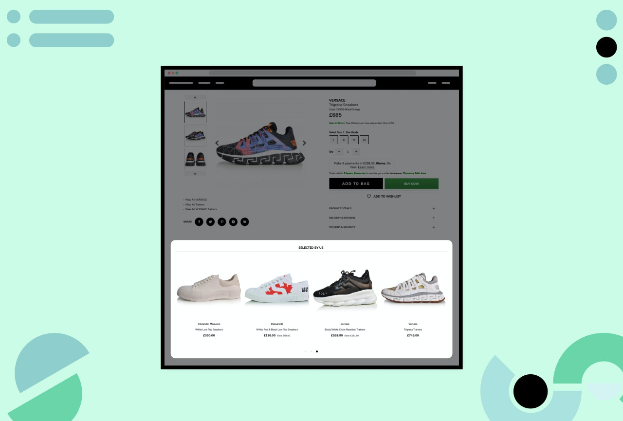 How to use product recommendations