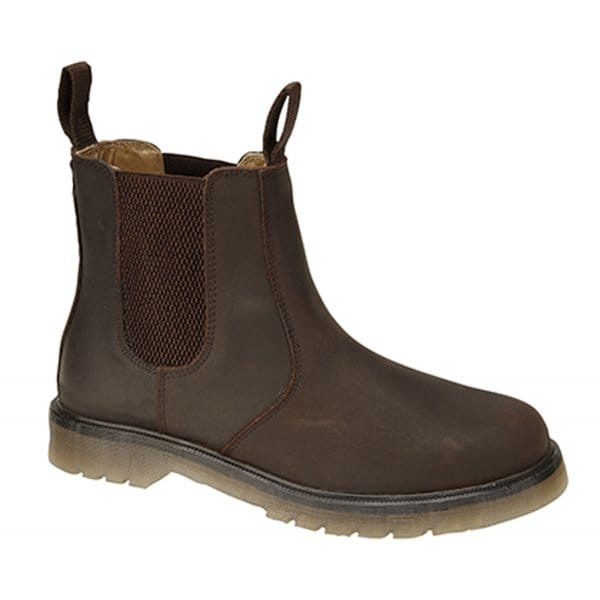 380c4f4c8d0 Dr Martens OCCUPATIONAL Mens Leather Chelsea Boots Gaucho Brown|Shuperb