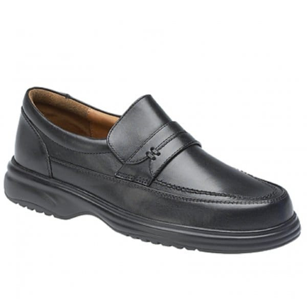 5479bb41f7d69 Padders. BARON Mens Leather Wide (G Fit) Loafer Shoes Black. £56.00 ·  Roamers